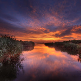 by Robert Burger - Landscapes Sunsets & Sunrises