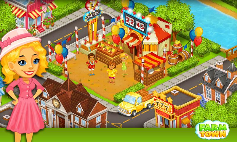 Farm Town:Happy City Day Story Screenshot 2