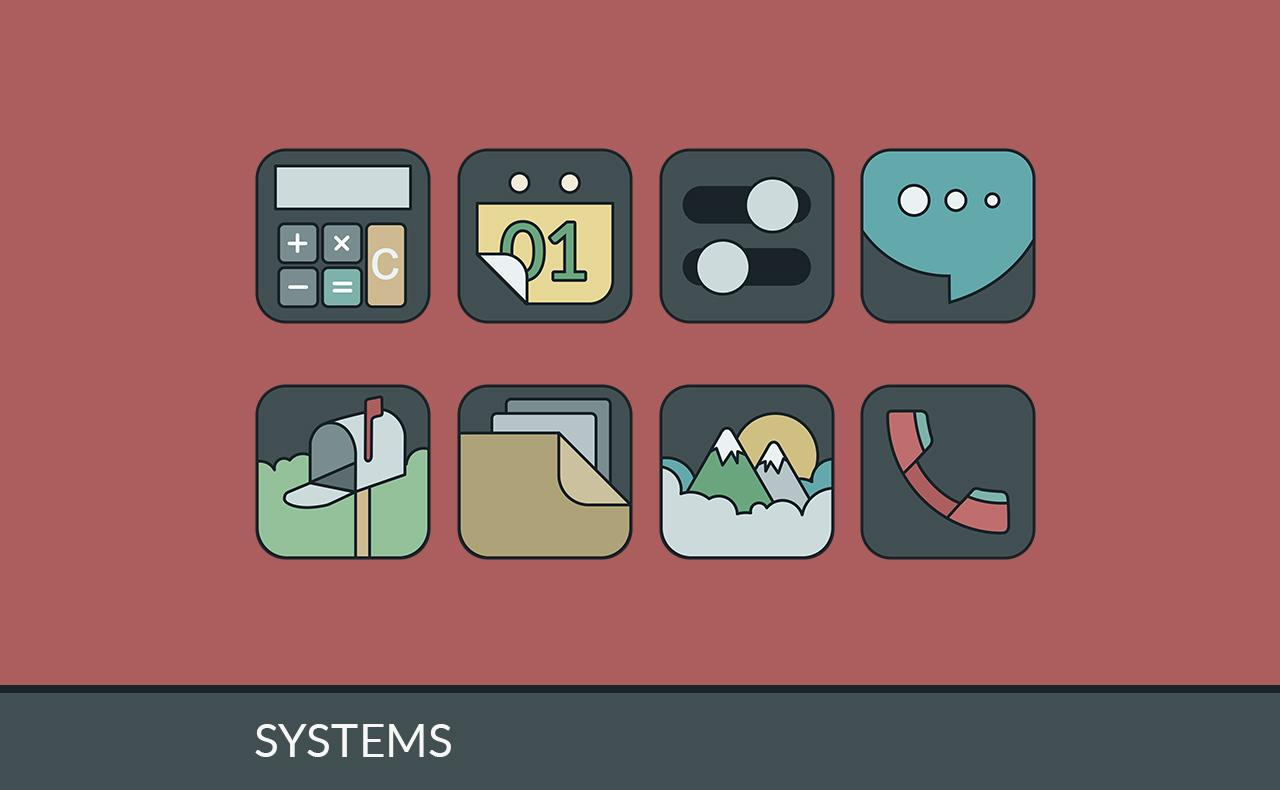IMMATERIALIS ICON PACK Screenshot 3