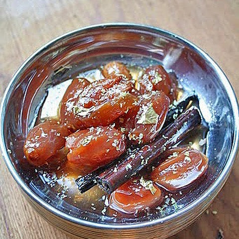 Sugar Poached Dates