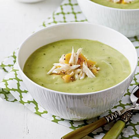 Chilled Avocado and Zucchini Soup Recipe | Yummly