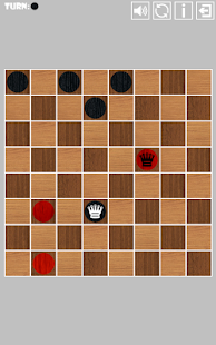 Two Player Checkers (Draughts) - screenshot