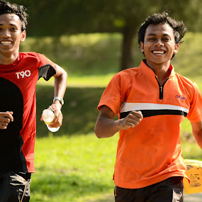 POLYMAN 2013 by Mohd Hisyam Saleh - People Portraits of Men ( 2013, polyman, nikon, running, man )