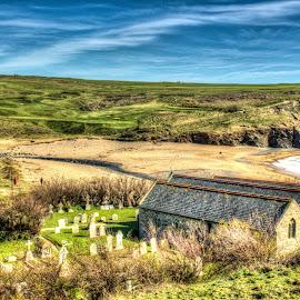 Church Cove by Steve Rowe - Digital Art Places