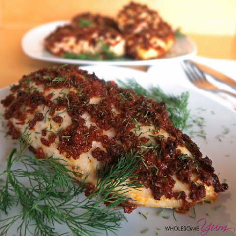 Bacon Crusted Chicken (Paleo, Low Carb)