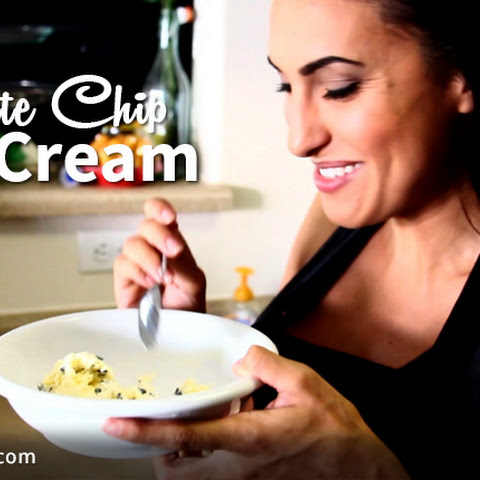 Homemade Ultra-Low Carb Chocolate Chip Ice Cream