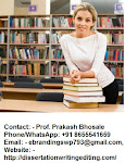 Gets the Professional Dissertation Writing Services in Ahmedabad