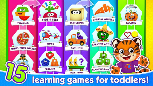 Funny Food 2! Learning Games