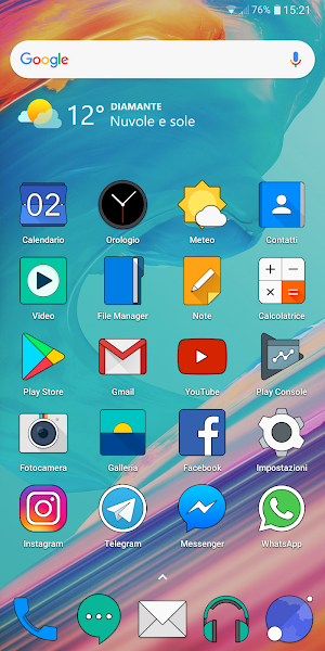 ONE PLUS OXYGEN ICON PACK HD- screenshot