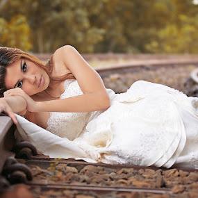 Desperate Bride by Piko Prakoso - Wedding Bride