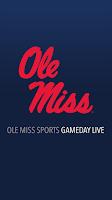 Screenshot of OleMissSports.com Gameday LIVE