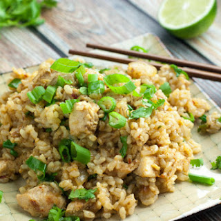 Spicy Chicken Fried Rice