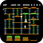 Burger Time Icon