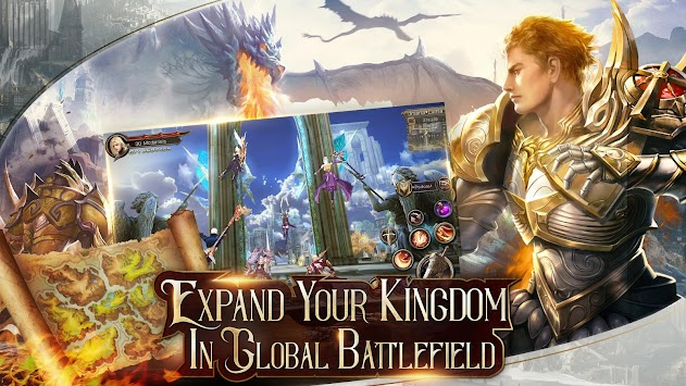 Immortal Thrones-3D Fantasy Mobile MMORPG APK screenshot thumbnail 2