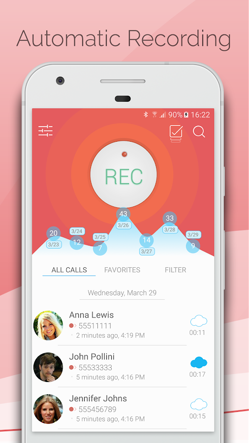 Automatic Call Recorder 2017 Screenshot 0