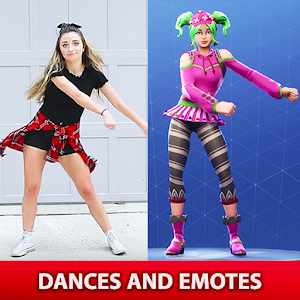 Battle Royale Dances and Emotes For PC