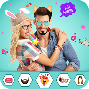 Download Stickers Photo Editor : Stickers & Snap Photo Edit For PC Windows and Mac
