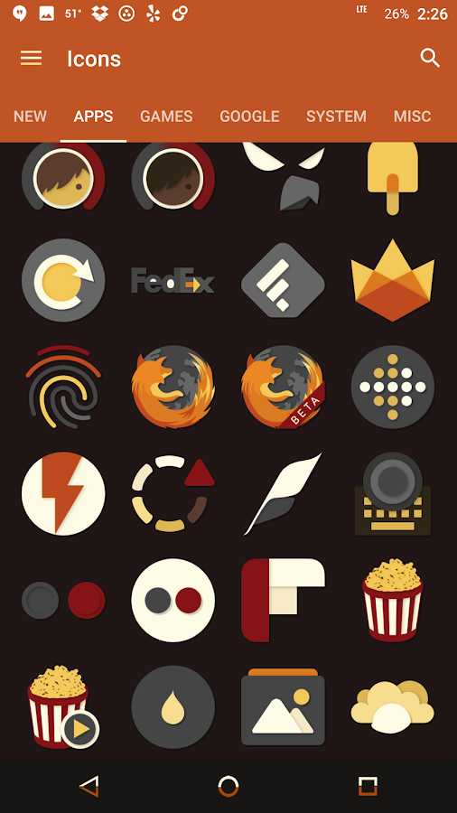 Saturate - Free Icon Pack Screenshot 10