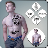 Download Tattoo Photo Editor Name On My Body APK on PC