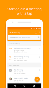GoToMeeting Business app for Android Preview 1