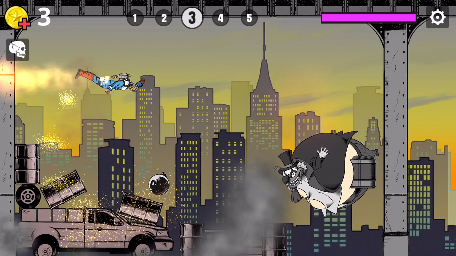 LIMP HEROES -PHYSICS ACTION!- Screenshot 2