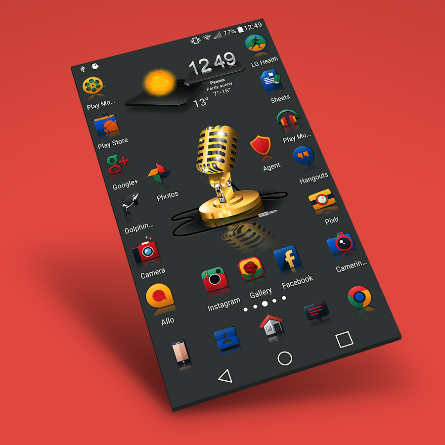 Reflector - Icon Pack Screenshot 0