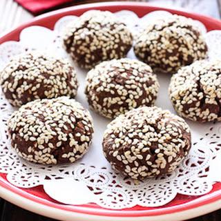 Chocolate Sesame Seed Cookies Recipes