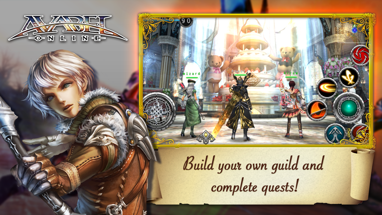 Online RPG AVABEL [Action] Screenshot 3