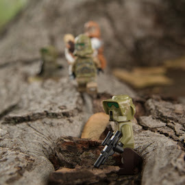 Troopers on the Move by Gerald Glaza - Artistic Objects Toys ( troopers, clone troopers, toys, star wars, disney, lego )