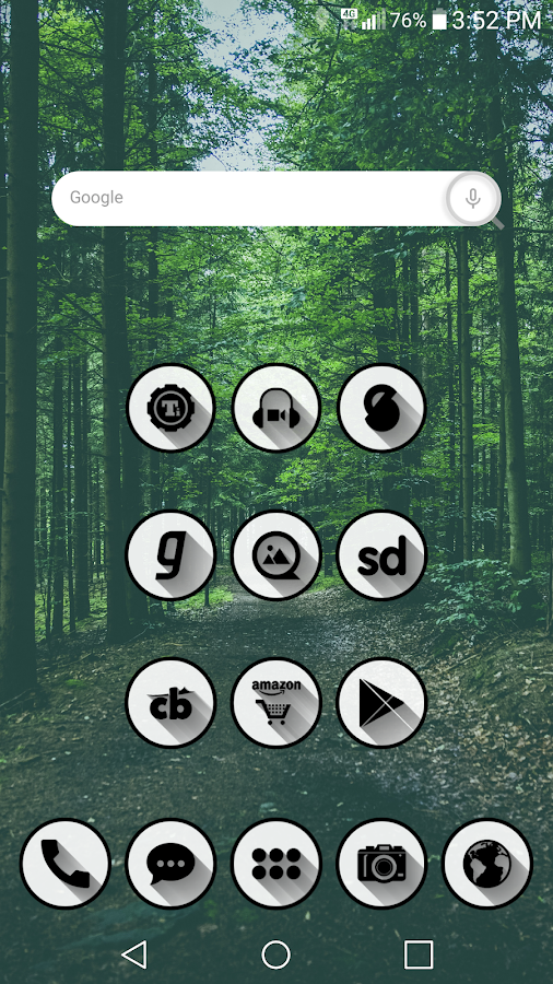 Shady Icon Pack Screenshot 1