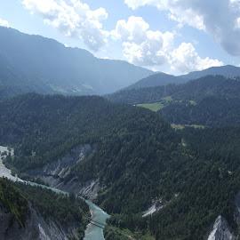 Flims, Graubünden, Switzerland by Serguei Ouklonski - Landscapes Mountains & Hills ( mountains, mountain, outdoors, nature, range, summer, landscape, scenics )