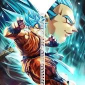 App Goku Vegeta Saiyan DBS Zipper Lock Screen APK for Windows Phone