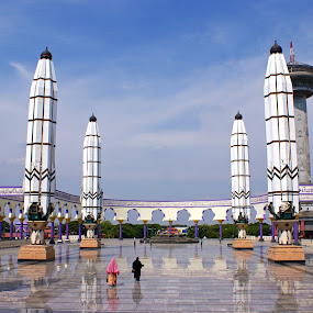 Great Mosque Central Java by Mulawardi Sutanto - Buildings & Architecture Statues & Monuments ( central java, indonesia, semarang, travel, moaque )