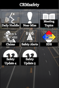 CRMsafety - screenshot
