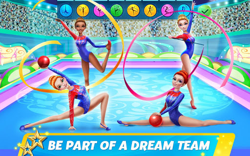 Rhythmic Gymnastics Dream Team: Girls Dance For PC