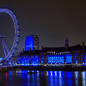 Touring london 2013 by Damien Brearley - Landscapes Starscapes ( the savoy, swat photography, london eye, royal, london tour, night, big ben )