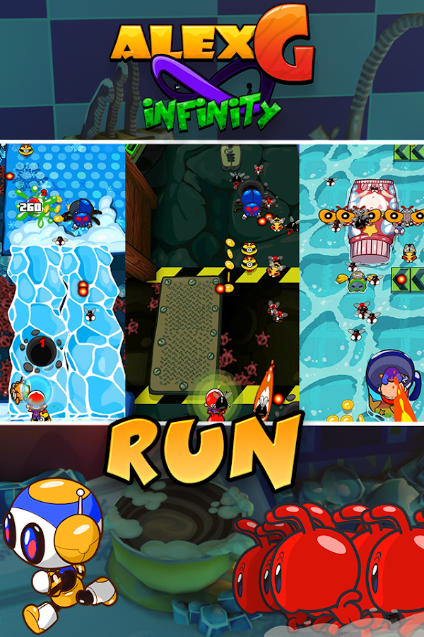 AlexG Infinity - Shoot 'Em Up Screenshot 3