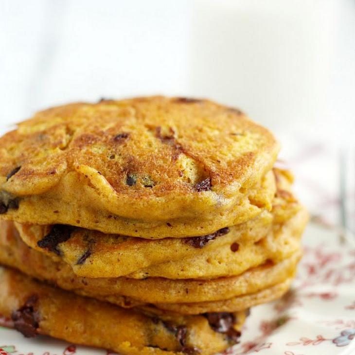 Vegan Pumpkin Chocolate Chip Pancakes. Recipe   Yummly