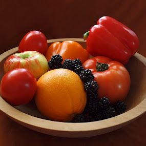 Bowl of Plenty. by Diana Treglown - Food & Drink Ingredients
