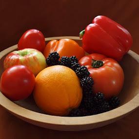 Bowl of Plenty. by Diana Treglown - Food & Drink Ingredients