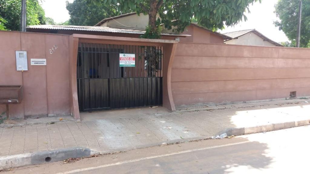 Casa com 2 quartos + 1 suíte à venda, 109 m² por R$ 150.000 - Doutor Sílvio Botelho - Boa Vista/RR