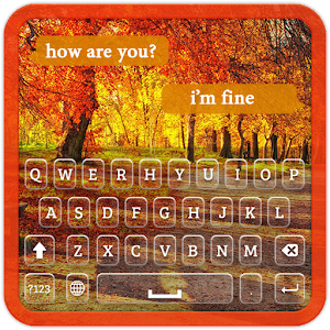 Download Autumn Keyboard Theme for Windows Phone