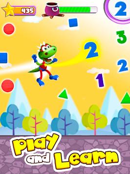 Dino Tim:Learn shapes & colors apk screenshot
