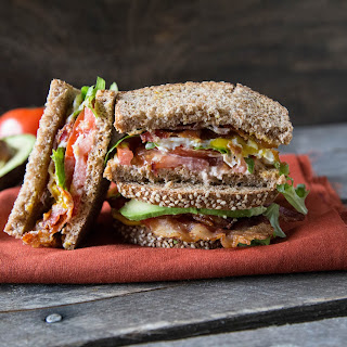 Egg and Avocado BLT with Chipotle Mayo