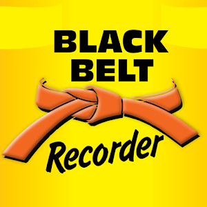 Black Belt Recorder Orange