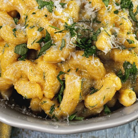 Healthy Butternut Squash Macaroni & Cheese