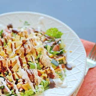 BBQ Chicken and Ranch Chopped Salad