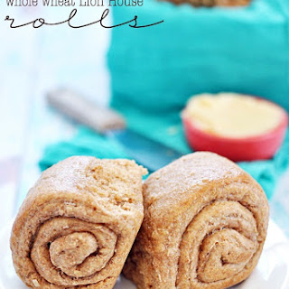 Whole Wheat Lion House Rolls