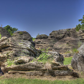 How Many Rocks are there? by Jackie Eatinger - Landscapes Caves & Formations