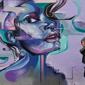 by Nick Reck - City,  Street & Park  Street Scenes
